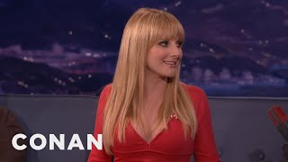Melissa Rauch: Ninja Turtles Are My Free Sex Pass  - CONAN on TBS