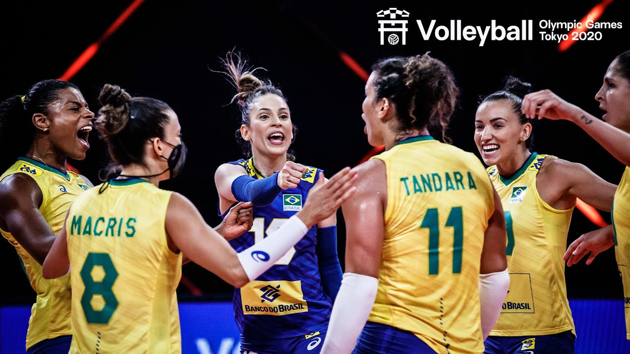 Brilliant Plays of Women's Team Brazil 🇧🇷 2x Olympic Champion! | Volleyball World