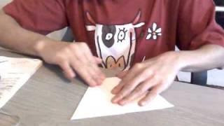 cizmulite de hartie origami