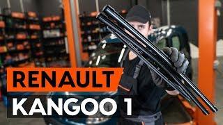 Montaje Plumas limpiaparabrisas traseras y delanteras RENAULT KANGOO: vídeo manual