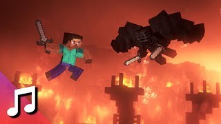 ♪ The Fat Rat - Stronger (Minecraft Animation) [Music Video]