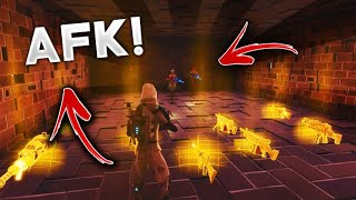 Going AFK While Trading Two Scammers! (2 Scammer Gets Scammed) In Fortnite Save The World Pve