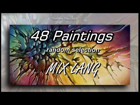 Paintings 48 MIX LANG Contemporary Art Random Selection Gallery