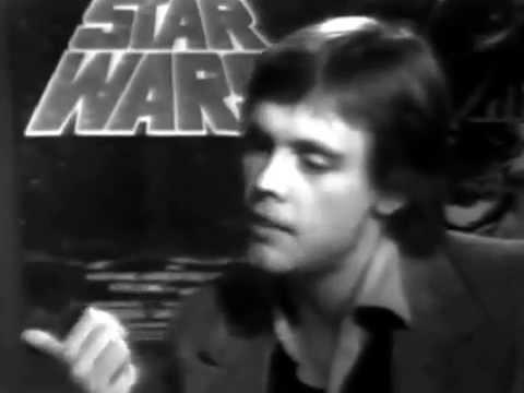 1977 Mark Hamill aka Luke Skywalker Interview