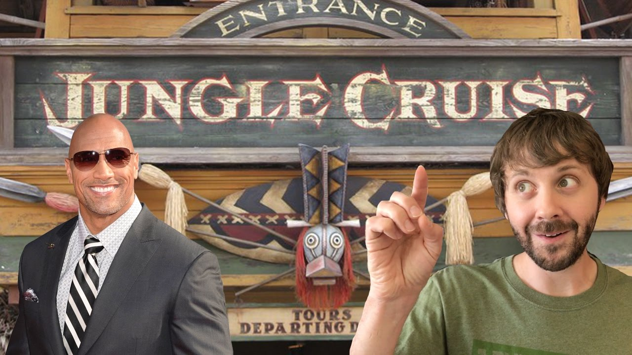 JUNGLE CRUISE MOVIE STARRING THE ROCK?! - This Week In Disney April 9 2017