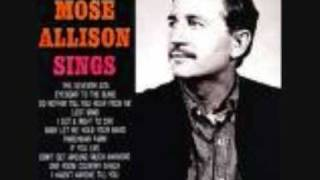 Watch Mose Allison The Seventh Son video