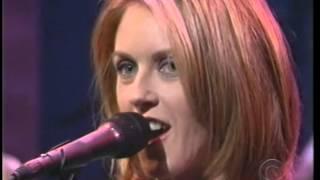 Liz Phair - Polyester Bride on Letterman 1998