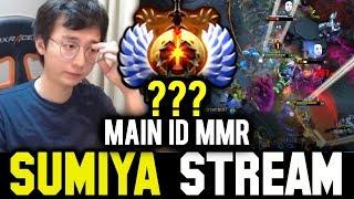 What's the MMR of SUMIYA Main Account | Sumiya Invoker Stream Moment #624