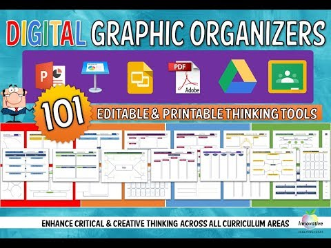 Digital Graphic Organizers for Teachers in the classroom