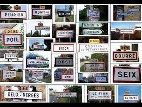top 40 des villes au nom insolite