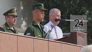 Нижнекамская делегация провела день татарской культуры в войсковой части