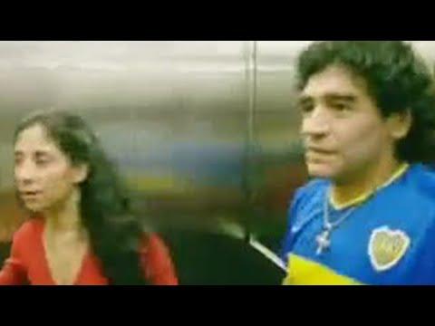 Attending a Boca Juniors football match with Diego Maradona - Gary Lineker for BBC