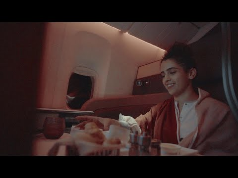 Qsuite experience with Sanya Malhotra | Qatar Airways