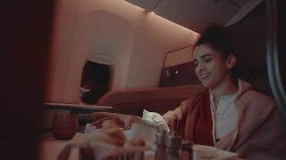 Qsuite experience with Sanya Malhotra | Qatar Airways
