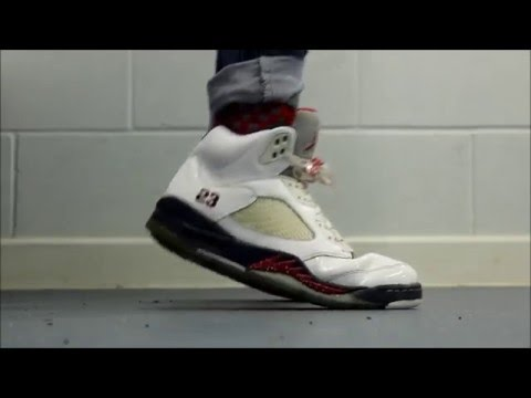 3b6e9e2b355 Air Jordan 5 Independence Day On Feet + GIVEAWAY In Description - YouTube