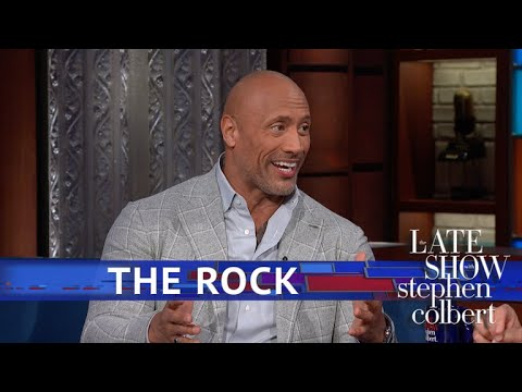 Stephen Colbert vs. Dwayne Johnson's Grandma Was Into Wrestling