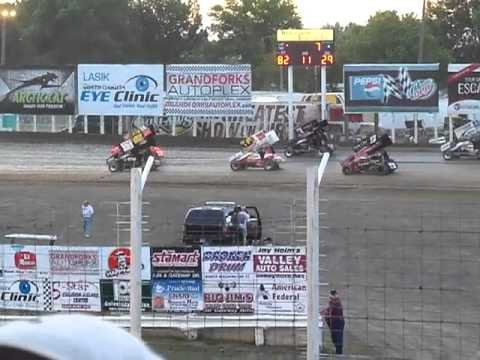 World of Outlaws Sprint Car Dash at River Cities Speedway