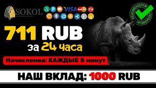 РЕАЛЬНЫЙ ОТЗЫВ- БЫСТРЫЙ ЗАРАБОТОК в ИНТЕРНЕТЕ для НОВИЧКА - SokolCash - Куда вложить деньги в 2020