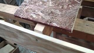 How to lay decking for a roof