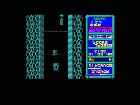 LED STORM - 128K (ZX SPECTRUM - FULL GAME)