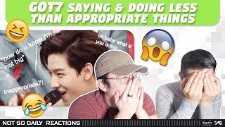 Nsd React To '[got7] Saying And Doing Less Than Appropriate Things'