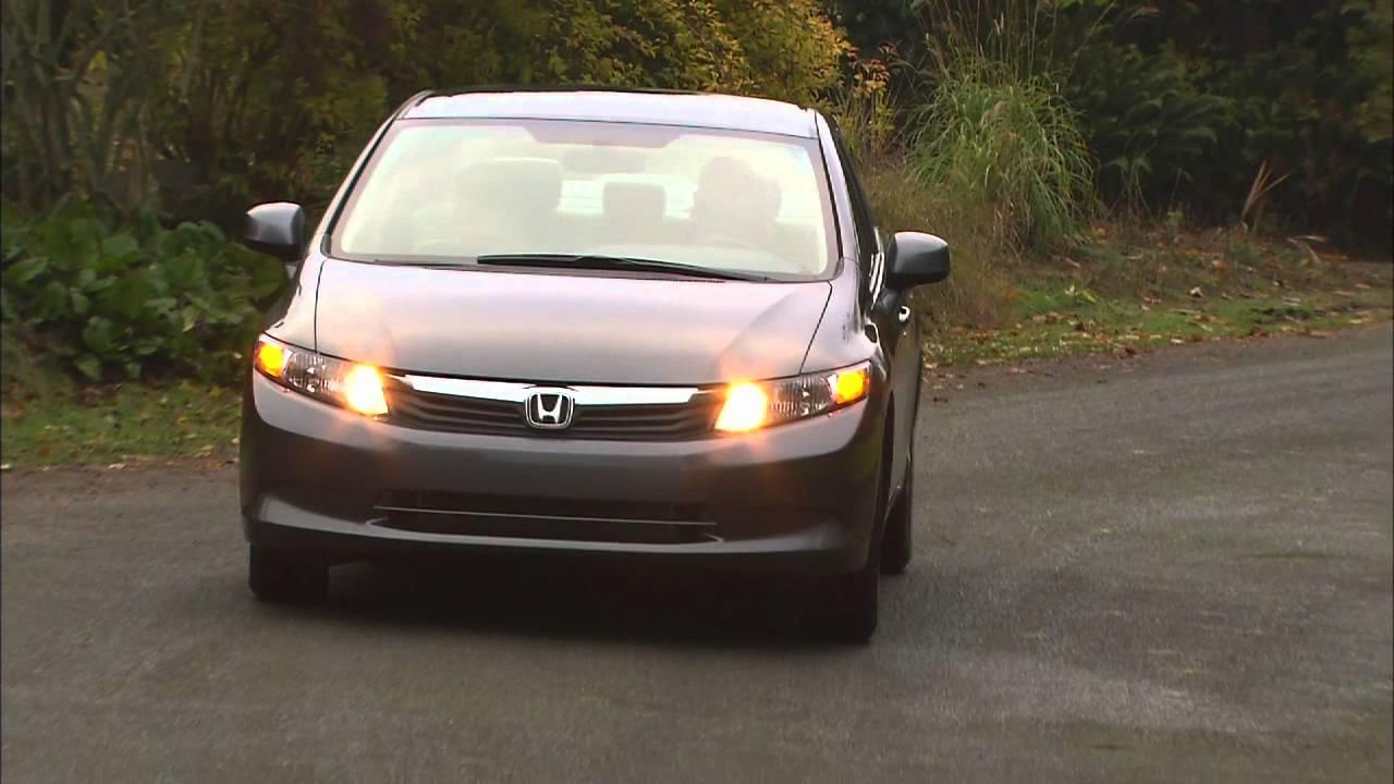 Elegant 2012 Honda Civic Natural Gas HD Video Review