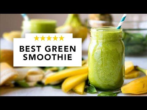 BEST Green Smoothie Recipe EVER! (5 SIMPLE Ingredients)