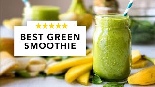 The best green smoothie recipe ever! (Beginner's Luck)