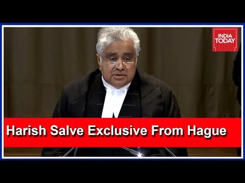 Harish Salve Exclusive To India Today: Tried To Present Jadhav Case Without Undue Distractions