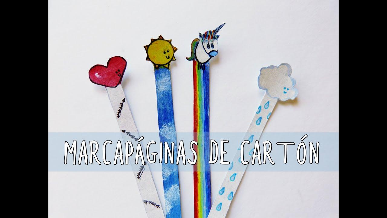 Marcapáginas originales (Manualidades fáciles Día del Libro 2015 ...