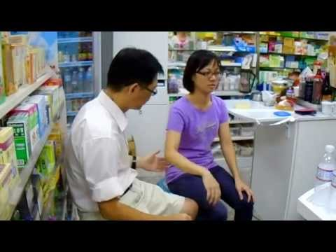 (8) Instant healing on pain & aches at a pharmacy in Taipei during charity healing tour