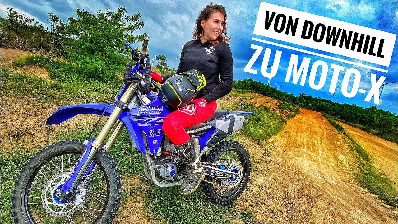 Von Downhill zu Motocross l nach über 10 Jahren wieder am MX Bike l Moto-X Dog Rosie l MISS PEACHES