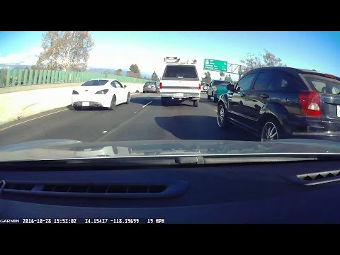 Unsafe Lane Changing in Los Angeles, CA