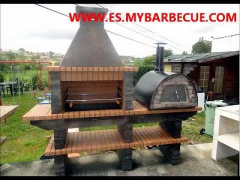 Barbacoa de piedra con horno de le a maximus fabricante - Fabricantes de barbacoas ...