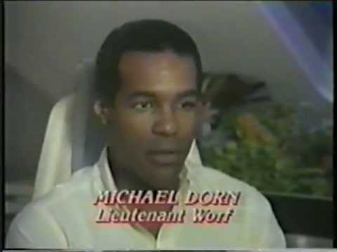 Michael Dorn Star Trek The Next Generation Pre Air