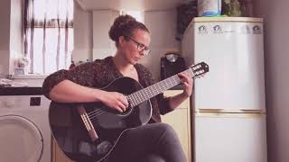 Emily Jane - Voyager (Birdy Cover) - Acoustic guitar cover - Yamaha C40 Black