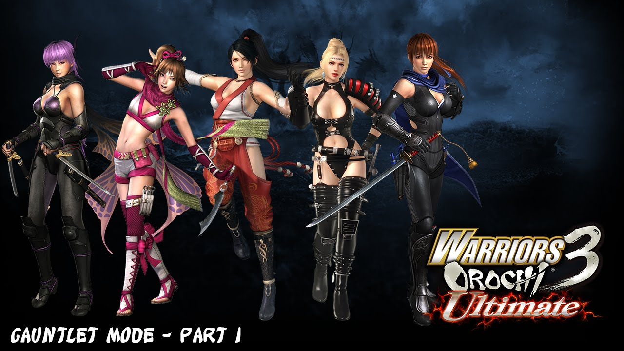 Warriors Orochi 3 Ultimate - Gauntlet Mode Part 1 - YouTube