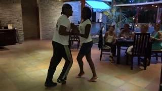 Salsa Lessons at La Foresta, Havana, Cuba - September 28, 2016