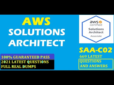 Download AWS Solutions Architect–Associate SAA-C02 |FREE LATEST 669 QUESTIONS DUMP | 100% GUARANTEED TO PASS