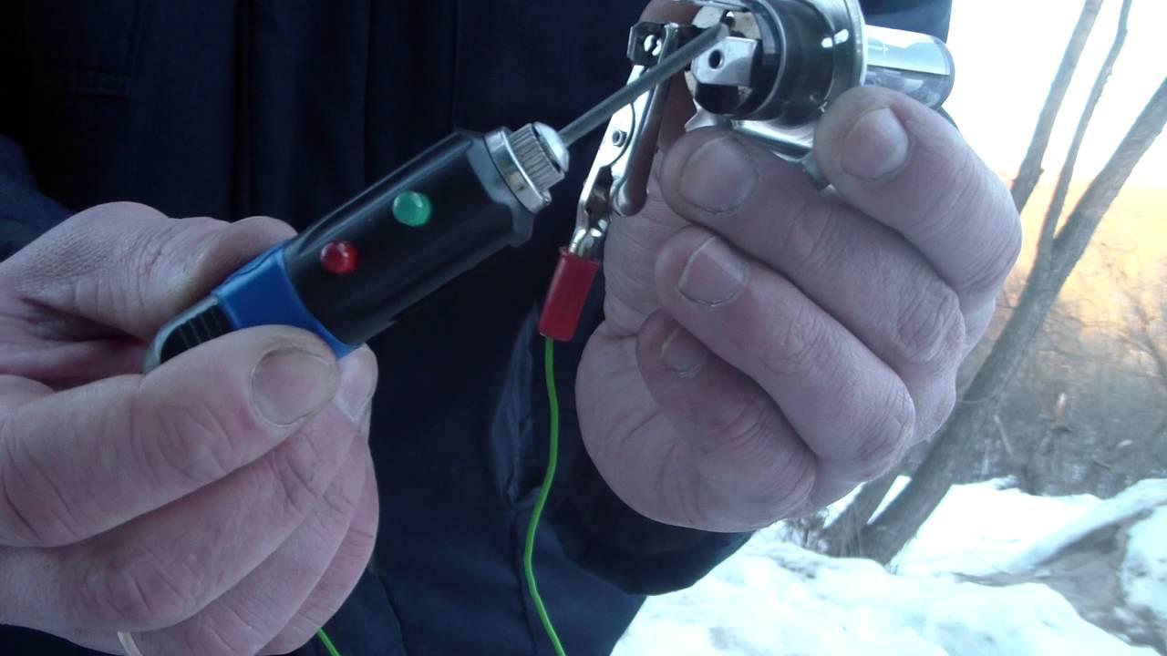 Как проверить,прозвонить автомобильную лампу H4,H3,H7,H1 своими рукаим