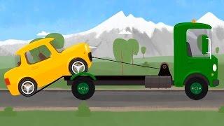 Мультфильмы для детей про эвакуатор и машинку - Доктор Машинкова и ее автомастерская