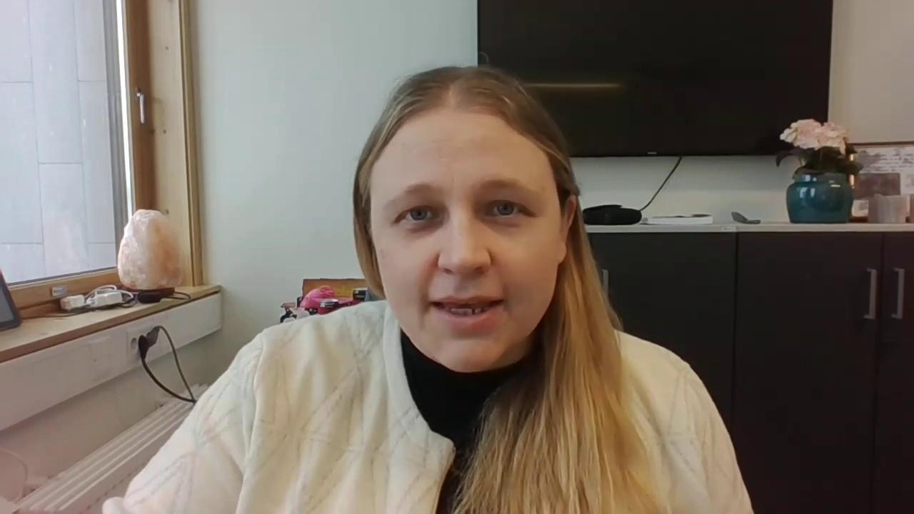 Videohilsen til elever ved Rana ungdomsskole fra rektor Kari Edvardsen
