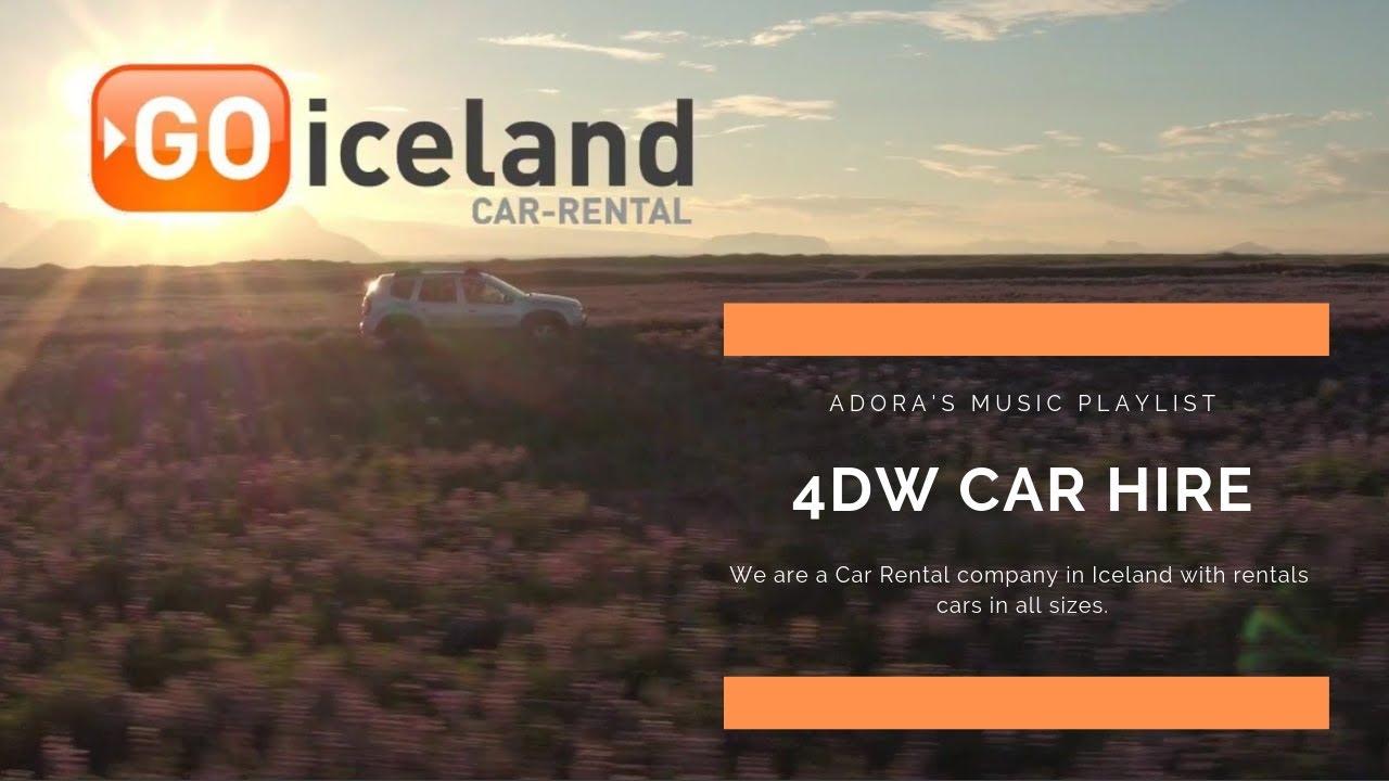 Rental car damage assessment - GO Iceland