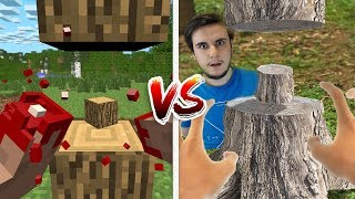 MİNECRAFT VS GERÇEK HAYAT (Minecraft vs Real Life)