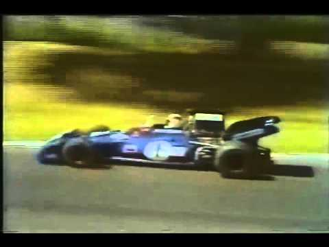 Jacky Ickx and Emerson Fittipaldi 1972 British Grand Prix Early Laps by magistar