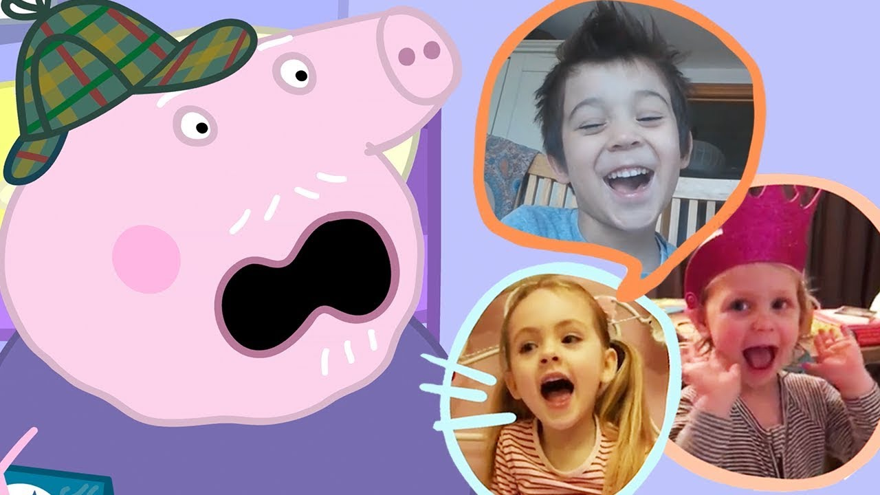 Kids Reactions On Peppa Pig Movie! - Festival of Fun! In Cinemas April 2019