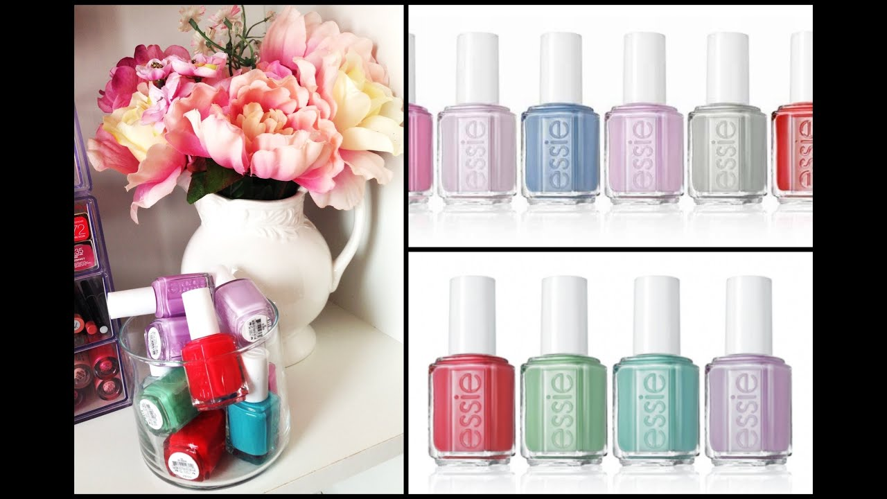 Nail Polish Haul and Review! (Essie Spring 2013 and Essie Resort ...