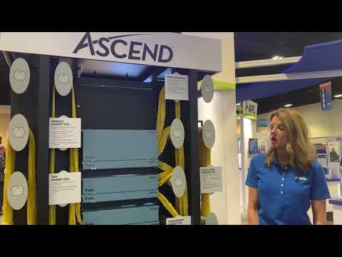 Kristine talking ASCEND Cassettes at BICSI Winter 2020