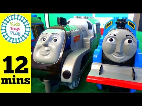 Thomas and Friends Giant LEGO Duplo Haul | Playing With Toy Trains Video For Kids | Thomas Train