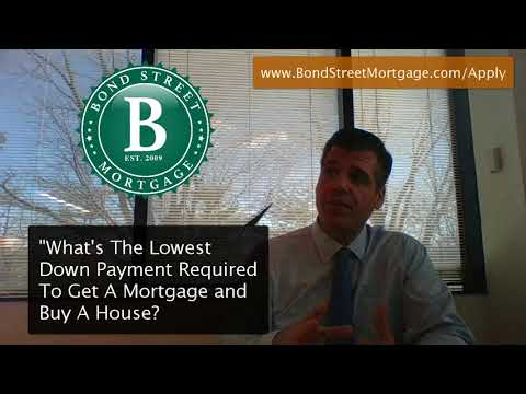 Lowest Down Payment To Buy A House